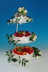 jogurtový dort ve stojanu 1